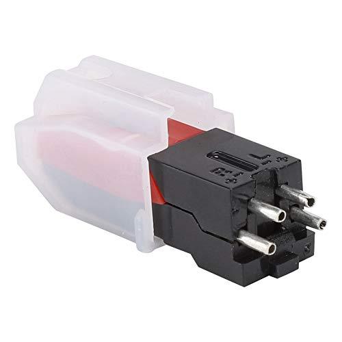 Platenspelernaald, Q3 Crystal Vinyl USB-platenspeleraccessoires, vervangend pickup-systeem en naald voor platenspeler voor LP-vinylspelers, magnetisch, fonograaf