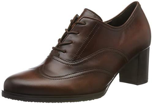 Gabor Shoes Damen Basic Derbys, Braun (Sattel (Effekt) 22), 40 EU