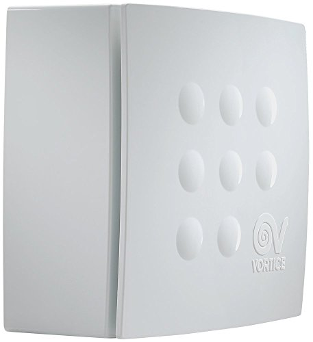 Vortice Aspiratore centrifugo per condotti Quadro, Bianco, 1