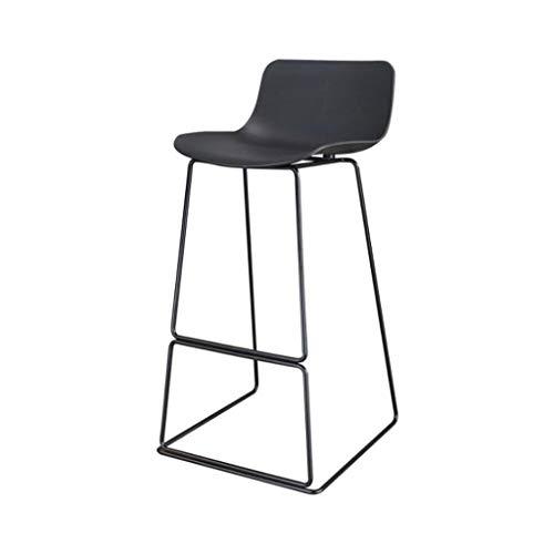 XQAQX kruk metalen poten, die de stoelhoogte zonder mouwen met plastic zitting voor keuken enteller-badkamer eetstool