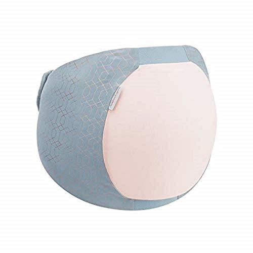 Babymoov Dream Belt Fresh S/M - Ceinture ergonomique pour le confort du sommeil de la femme enceinte, élastique, adaptable, Rose Doré