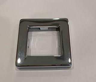 Chrome shower holder cover