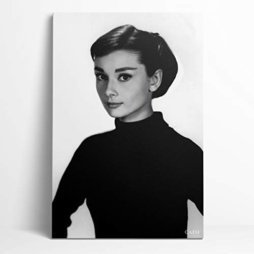 Remembrance Audrey Hepburn Posters decoración de pared de regalo 12'X 18' Hollywood 50 superestrellas legendarias Audrey Hepburn dormitorio decorativo