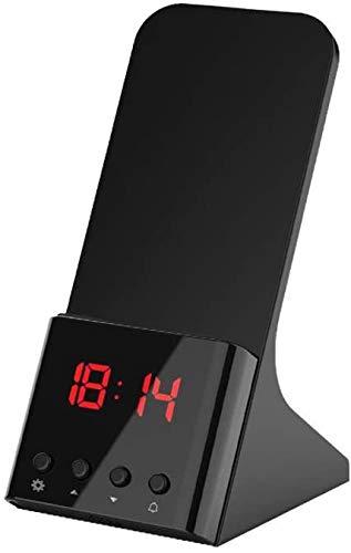 LY88 Wireless Charger Wekker Wireless Charger Charger Charger Wireless Charger Charger Draadloze oplader, Qi-gecertificeerde telefoonhouder voor iPhone XR / XS Max/XS / X / 8/8 Plus, Samsung S10 / S9 / S8