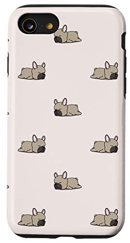 iPhone SE (2020) / 7 / 8 Cute Fawn French Bulldog Case