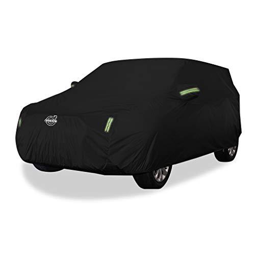 Cubierta de coche Cubierta para automóvil Volvo XC40 SUV de tela gruesa Oxford Protección solar Cubierta impermeable para lluvia Cubierta para automóvil (Tamaño : Oxford cloth - single layer)