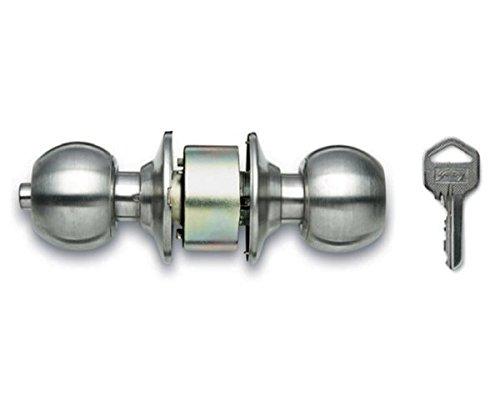 Godrej Locks Premium Cylindrical Lock (Stainless Steel) (Paid Installation)