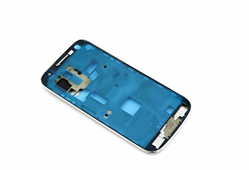 SHS Frame passend für SAMSUNG Galaxy s4 Mini weiss / Frontglas / Glas / Displayglas / LCD Reparatur / LCD Display / Digitizer / LCD Replacement / UV LOCA Kleber Glue Adhesive