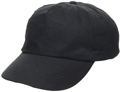US Basic 1202103b Casquette de Baseball, Noir, Taille Unique Mixte