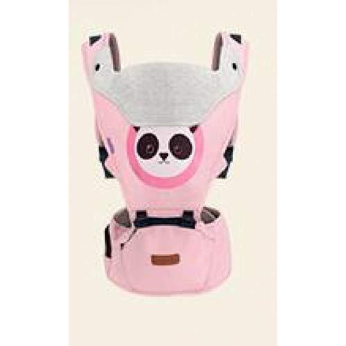 RTGID Portabebés para bebés Infant Kid Baby Hipseat Sling Front Facing Kangaroo Baby Wrap Carrier para Viajes de bebés 0-18 Meses , Rosa