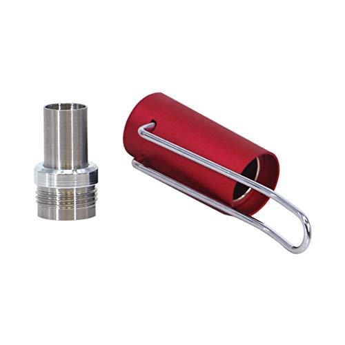 吸口の防塵保護 プルームテックプラス 互換 メタルキャップ ケース アクセサリー Koglee CAP V2タイプ 簡単装着 磁石吸着 持ち運び便利 ペンクリップ型 Ploom TECH+ おしゃれメタルキャップ コンパクト プルームテックプラスをもっと便
