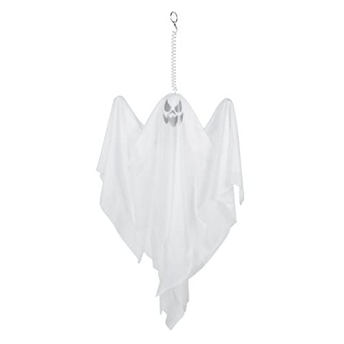 Boland- Decorazione Fantasma, Bianco, 50 cm, 74512