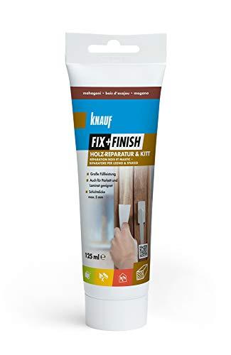 Knauf 593504 Fix+Finish Holzreparatur mahagoni 125 ml