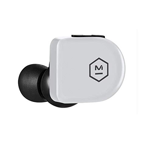 31nxU0u86KL - Master & Dynamic MW07 True Wireless Earphones with Best-in-Class Bluetooth 4.2 Connectivity and 10mm Beryllium Drivers for Unmatched Sound in a Wireless Earbud, White Marble