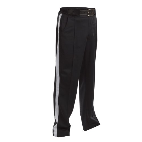 Adams USA Smitty FBS182 Football Officials Warm Weather Weight Pants (Black, 38-Inch)