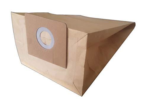 Bolsa para aspiradora compatible con Karcher 2000E, 3501, K300, NT200, NT351, 69040720, etc. – Flex: S35, S36, S42, VC35, VCE352, etc. – Bolsa de 5 bolsas de papel