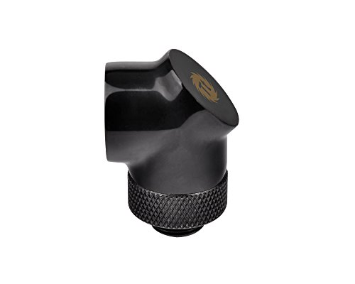 Thermaltake Pacific DIY LCS Black G1/4 90 Degree Adapter Fitting (CL-W052-CU00BL-A)