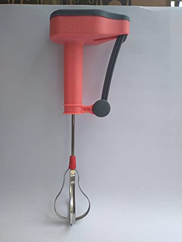 MEDHAVI Power-Free Manual Hand Blender & Beater in Kitchen Appliances | High Speed Operation for multi purposes Cooking, Egg & Cream Beater, Milkshake, Lassi, Butter Milk Mixer | Pink