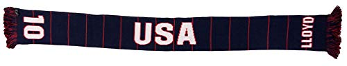 RUFFNECK US Women's National Team Player-Carli Lloyd Soccer Scarf, Blue, One Size