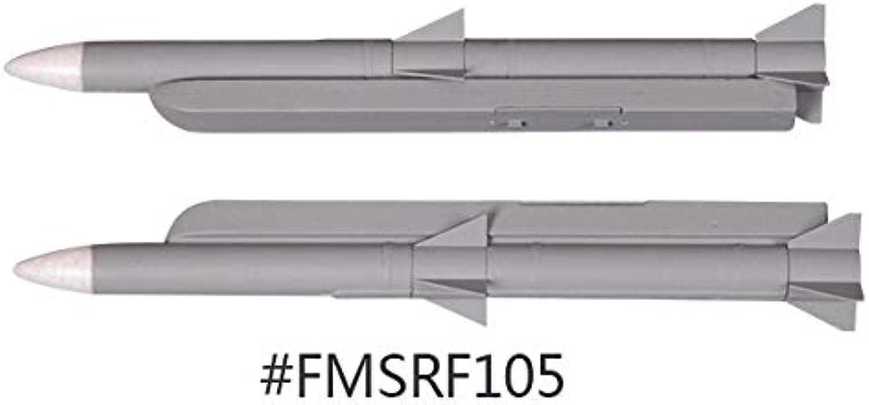Laliva Model 70mm F16 RC Aircraft Decoration Missile FMS105 - (color  Missile 1)