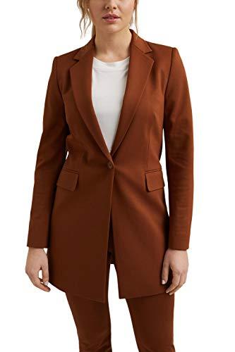 ESPRIT Collection 021EO1G308 Blazer, 225/Toffee, 38 para Mujer