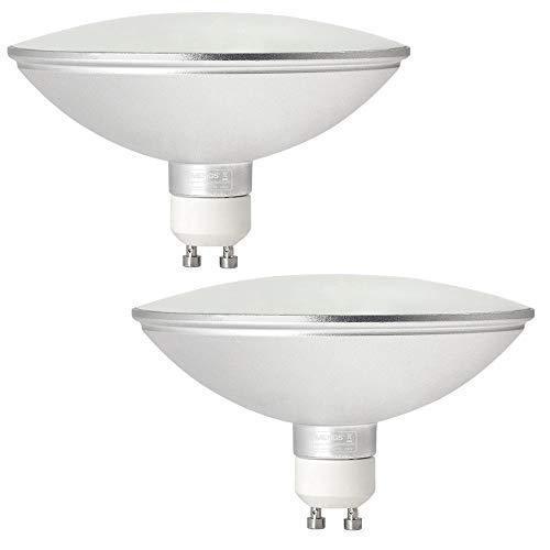 MENGS 2-er Pack GU10 LED ES111 Strahler Lampe 12W LED AR111 Leuchtmittel Ersatz für 95W Halogenlampen 1200lm 120° Warmweiß 3000K AC 85-265V Nicht Dimmbar