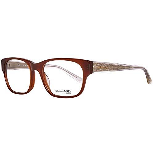 GUEX5 GM026451050 Brille GM026451050 Wayfarer Brillengestelle 52, Braun