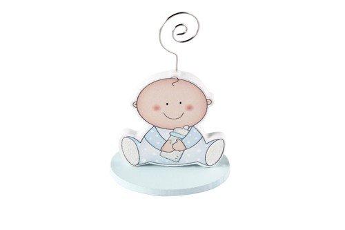 Lote de 20 Pinza Portafotos Bebé Azul Niño - Recuerdos, Detalles y Regalos Baratos Invitados bautizos