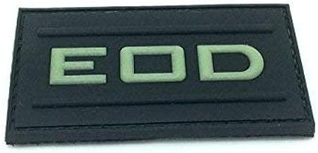 Parche de Velcro de airsfot, PVC, diseño EOD Que Brilla en la ...