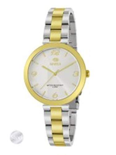 Reloj Marea Mujer de Acero Bicolor Dorado y Plateado .34mm de Caja. B54166/3