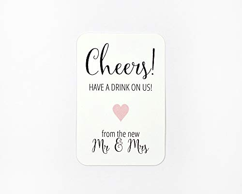 70ct Wedding and Event Cash Bar Drink Tickets (RR-188-BL)