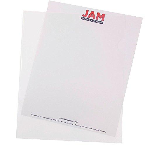 JAM Paper Plastic Sleeves - 9