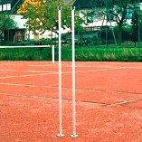 INSTALACIONES VARIOS DEPORTES- Postes para bádminton, tenis y voleibol REDENDOS