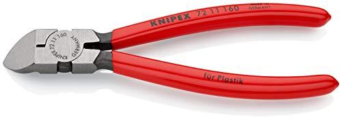 KNIPEX Alicate de corte diagonal para plásticos (160 mm) 72 11 160