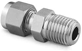 Tube : OD Compression Swagelok SS-503-1 A-Lok Front Ferrule 316 Stainless 5//16 in