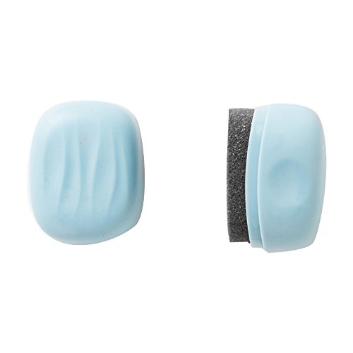 Rocita Esponja para Zapatos,Cepillo para Limpieza de Zapatos Doble Cara Ligero y portátil para Viajar Limpiar de Zapatos(Azul)