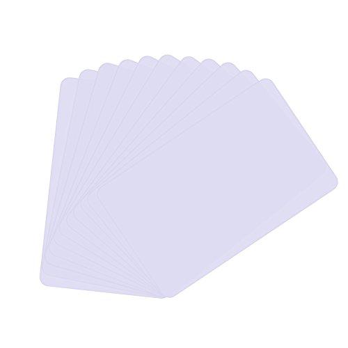 500 szt. Mifare® Ultralekka EV1 pusta biała PCW zbliżeniowa karta inteligentna może być używana do bezpiecznych płatności, inteligentnego biletu, transportu publicznego, lojalności