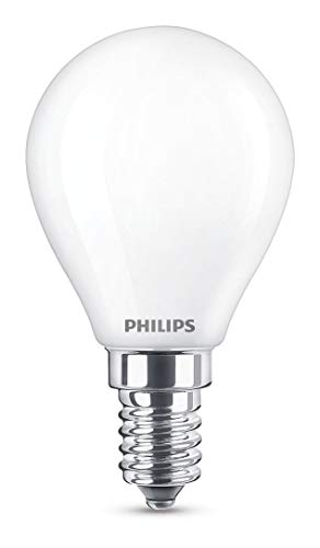 Philips 8718696706299 A++, LED Classic 40W P45 E14 WW FR ND Srt4, Glas, 4.3 watts, E14, matt, 4.5 x 4.5 x 8.0 cm