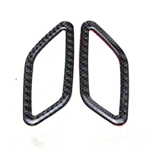 Artículo De Decoración De Control Medio/Caja De Almacenamiento Accesorios De Lentejuelas Fibra De Carbono para Mercedes para B-ENZ GLA CLA A Clase Interior de automóvil (Talla : Segundo)