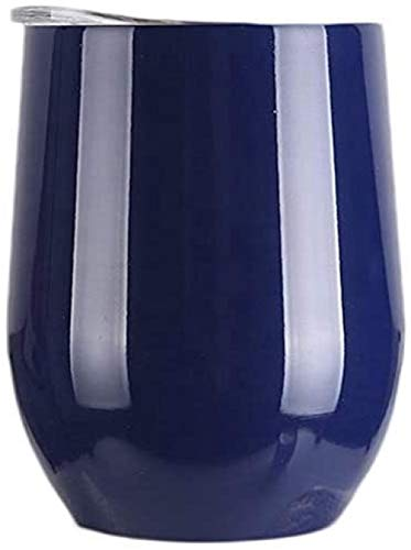 Taza de viaje aislada al vacío de acero inoxidable de alta calidad de doble capa con tapa a prueba de salpicaduras, sin BPA (350 ml)