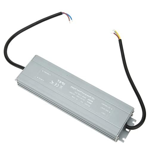 Controlador de fuente de alimentación, HRUW-120W-24V Fuente de alimentación industrial liviana a prueba de agua 100-240VAC para luz LED para uso doméstico para exteriores