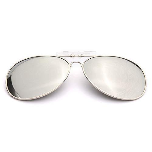 EDSWXT Gafas De Montar Hombres Mujeres Clip Polarizado En Gafas De Sol...