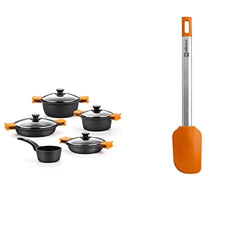 Batería De Cocina Bra Efficient 4 Piezas Marca BRA