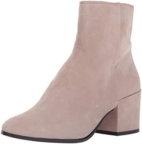 Dolce Vita Women's Maude Ankle Boot, Almond Suede, 8 Medium US