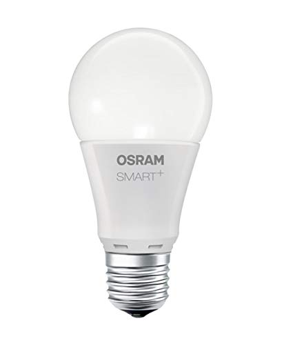 OSRAM Smart+ LED, ZigBee Lampe mit E27 Sockel, warmweiß, dimmbar, Direkt kompatibel mit Echo Plus und Echo Show (2. Gen.), Kompatibel mit Philips Hue Bridge