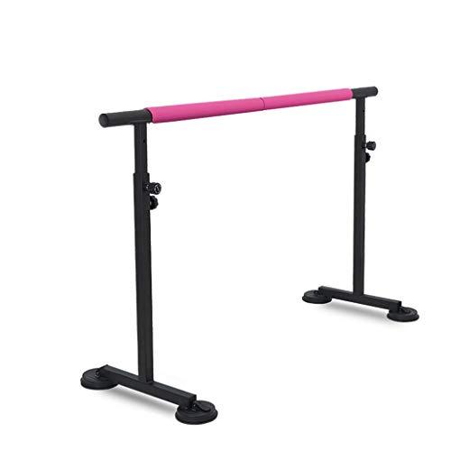 Balletto Balletto freestanding Barre (nero) Ballet Barre Staffe per la casa Yoga Studio Ideale per casa, scuole danza o allenamenti attivi, barra regolabile in altezza per allungamento