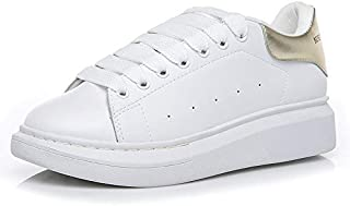 RAKUSHEEP NOBRAND alexMCQUEEN-style Thick bottom Flat sole Sneakers Ladies