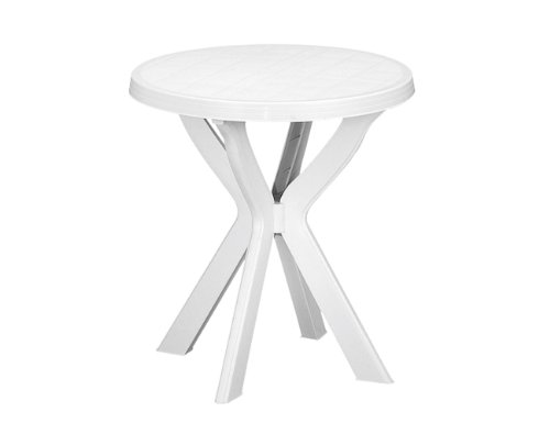 Fun Star 8009271904002 Don Ronde Tafel, Wit, 70 x 70 x 72 cm