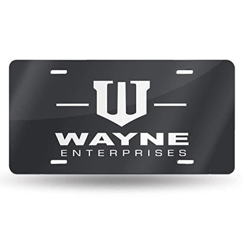MYGED Metal Particular Wayne Enterprises License Plate Car Tag 6' X 12'