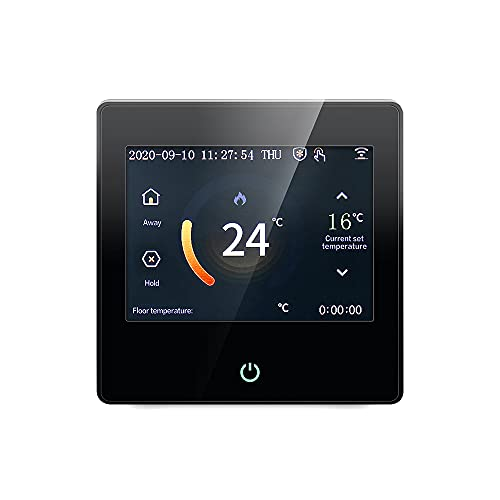 Wi-Fi Smart Thermostat for Smart Home, DIY with Celsius/Fahrenheit LED Touch Screen Work with Alexa, Energy Star Certified